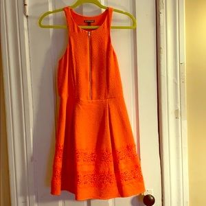 Express Cocktail Dress - Coral - Size 6